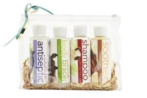 Tea Tree grooming supplies, gift pack